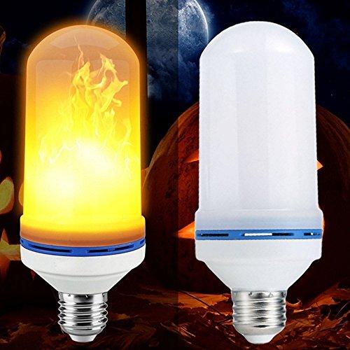 E27 7W LED Flammeneffekt-Glühlampe, geführte Flimmerflammen-Feuer-Lampen Mais führte Birnen für Haus, Partei, Bar, Hochzeit, Festival-Dekoration