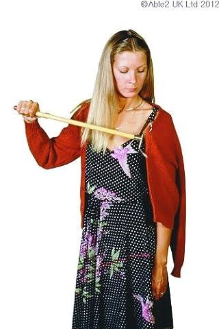 Able2 Crochet d'Habillement Longueur 46 cm