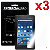 "[3-Pack] Fire 7 2015 Screen Protector - Fintie [Ultra-Clear] Screen Shield Protector for Amazon Fire 7 Tablet (will only fit Fire 7"" Display 5th Generation - 2015 release), Retail Package"