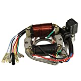 Alamor 50Cc 110Cc 125Cc 2 Bobine ATV Quad Stator Bobine D'Allumage Plaque Magnéto...