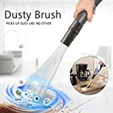 Xiton visto in TV 2018 Brush Cleaner Remover 35 millimetri (1-3/8 pollici che) Vuoto universale Attachment-Air Vents/Tastiere/Cassetti/auto/Strumenti/Crafts/Gioielli/Piante