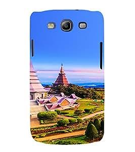 PrintVisa Travel Temple Design 3D Hard Polycarbonate Designer Back Case Cover for Samsung Galaxy S3 Neo