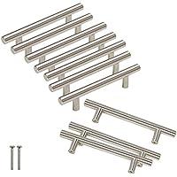 10pcs Cabinet Maniglie in Acciaio Inox Maniglia nichel spazzolato centri foro 96mm (3–3/4