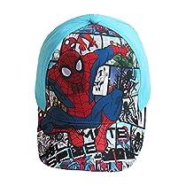 Casquette enfant garçon Spider-man Bleu et Noir de 3 à 9ans