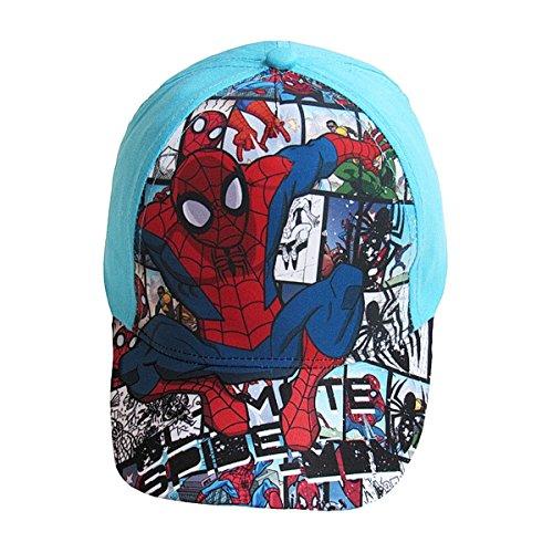 Casquette enfant garçon Spider-man Bleu et Noir de 3 à 9ans, Vêtements