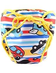 Couches de natation de bébé réglables réutilisables Nappes de bébé Coupe de natation étanches de bébé, # 11