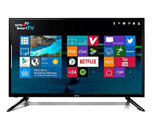 """Televisión Led 32"""" NPG TVS412L32H Smart TV Android TDT2"""