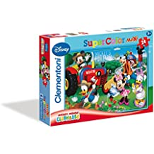 Clementoni 24435 - Puzzle Maxi Mmch Fun Farm, 24 Pezzi