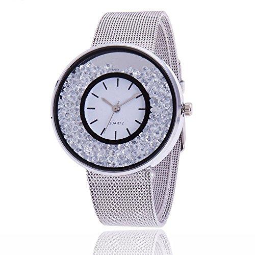Uhren DamenArmbanduhr Mode Frauen schöne Legierungs beiläufige Uhr Luxuriös Analoge Quarz Uhr Klassisch Uhr Diamond Uhren Armbanduhr Quarz Uhr Uhrenarmband Watch,ABsoar - Invicta Watches Replica