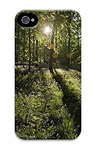 iPhone 4 4S Case Light Forest 3D Custom iPhone 4 4S Case Cover