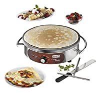 Waring Commercial WSC160X Heavy-Duty Electric Crepe Maker, 16