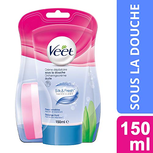 Veet Crema Depilatoria, Pelle Sensibile - 150 ml