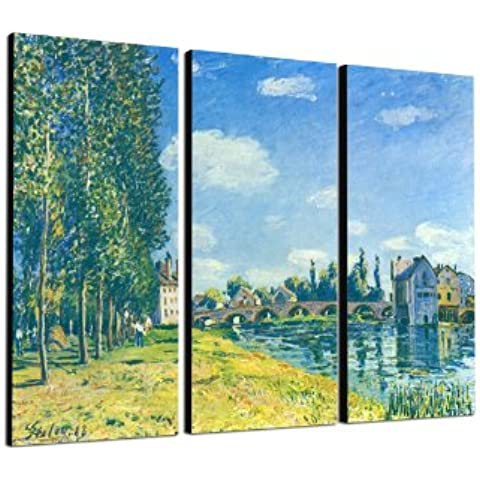 3 x 40 x 90 cm_Wandbild Alfred_Sisley_010_