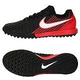 Nike Magistax Finale II TF, Chaussures de Football Homme, Noir (Schwarz/Weiß-Universität Rot 061), 43 EU