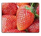 Jun XT Gaming Mousepad Bild-ID: 25520897Fresh reifer Erdbeeren Full Frame Hintergrund