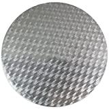 PME CCR823 Runde Tortenplatte 35 cm, Kunststoff, Silver, cm, 35 x 0.4 x 35 cm, 1 Einheiten