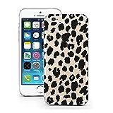 licaso iPhone 7 Hülle Apple iPhone 7 aus TPU Silikon Leo Leopard Katze Safari Muster Ultra-dünn schützt Dein iPhone 7 und ist stylisch Schutzhülle Bumper in einem (iPhone 7, Leo)