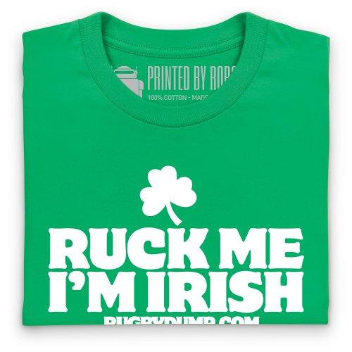 Ruck Me I'm Irish T-Shirt, Herren Keltisch-Grn