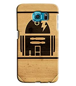 Blue Throat Home Made Of Cutting Printed Designer Back Cover For Samsung Galaxy S6 Edge Plus
