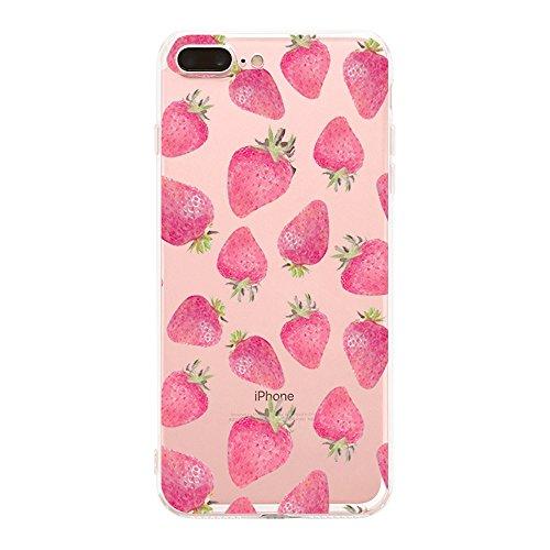 Qissy®TPU Case für iPhone 7 Plus 5,5 inch-Silikon-Hülle Soft Shell-Fall-Schutz Anti Shock Silikon Anti-Staub-beständig Tierischer Elefant (iPhone 7 Plus 5,5 inch, 11) 16