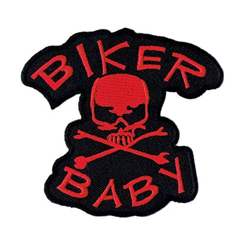 'Logo Parche/Iron on Patch Biker Baby