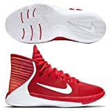 NIKE Herren Prime Hype DF 2016 (GS) Basketballschuhe, Rojo (University Red/White-Bright Crimson), 38.5 EU