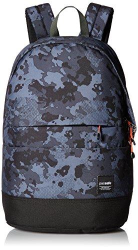 PacSafe Slingsafe LX300 Anti-Theft Backpack Rucksack, 44 cm, 20 liters, Grau (Grey/Camo 802)