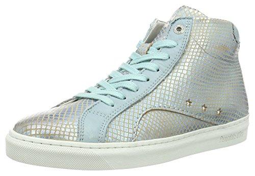 Pantofola d'Oro - Paularo Donne Mid, Pantofole Donna Blu (Babe Blue)