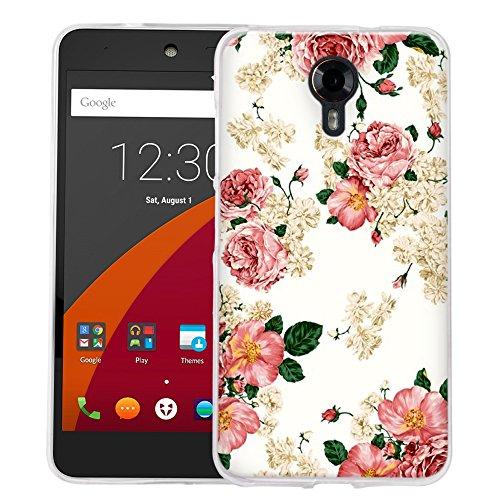 Dooki, Wileyfox Swift 4G Hülle, Weiche Silikon TPU Schützend Telefon Zubehör Abdeckung Tasche Schutzhülle für Wileyfox Swift 4G LTE