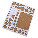 HuaYang ?1. Generation DIY Scrapbooking Quilling Schablone Schimmel Papier Handwerk Werkzeug Weiß