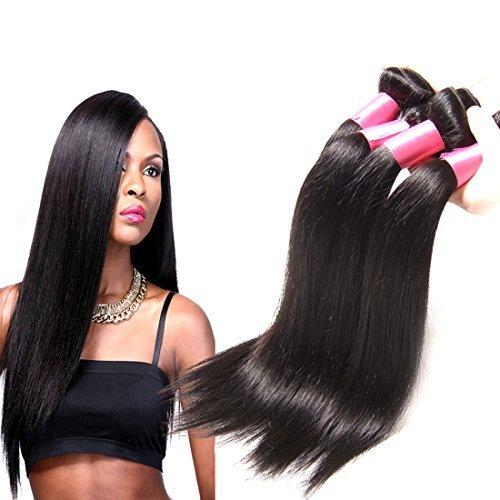 7 A brésiliens vierges Ombre Défrise tissage 3bundles 100% unprocessed Extensions de cheveux humains # 1B/# 4/# 27 (16 18 50,8 cm)