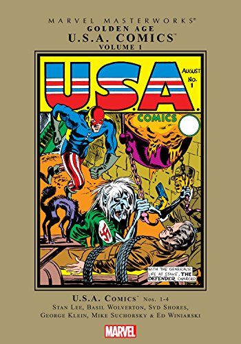 Golden Age U.S.A. Comics Masterworks Vol. 1 (USA Comics (1941-1945 ...