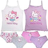 Hello Kitty - 6-TLG. Mädchen Unterwäsche-Set