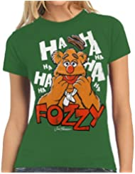 Muppets–Fozzy Vintage Logo Shirt T-Shirt Damen Shirt XS–L