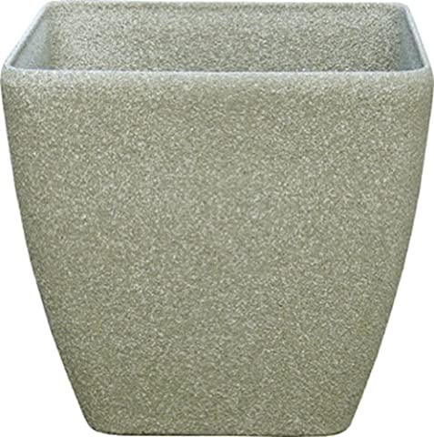 Stone Light SK Series 43cm Cast Stone Round Planter - Limestone (Pack of 2)