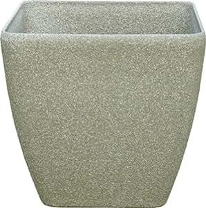 Stein SK Series 28 cm aus Stein, rund, Kalkstein, 2 Stück