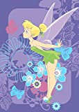 Disney Gioco Tappeto / Tappeto per bambini / Disney Fairies Trilli Tropical Carpet Rug tempo di 95 x 133 centimetri / consegna è di circa 1-2 giorni lavorativi