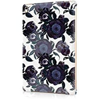 Flower Night Blue Rose Blossom Pattern Durable Hard Plastic Snap-On Plastic Tablet Case Cover For iPad Pro 9.7