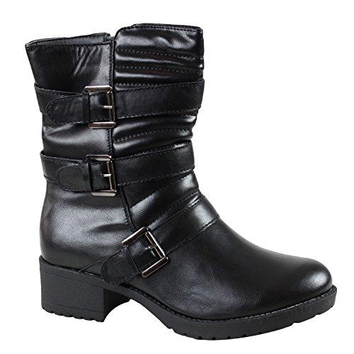 Kebello - Stiefel 212 - Noir Noir