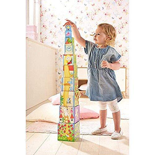 HABA-302030-Stapelwrfel-Rapunzel-Kleinkindspielzeug