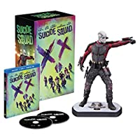 Suicide Squad - Deadshot Statue Edition [Limited Edition - Exclusive to Amazon.co.uk] [Blu-ray 3D]