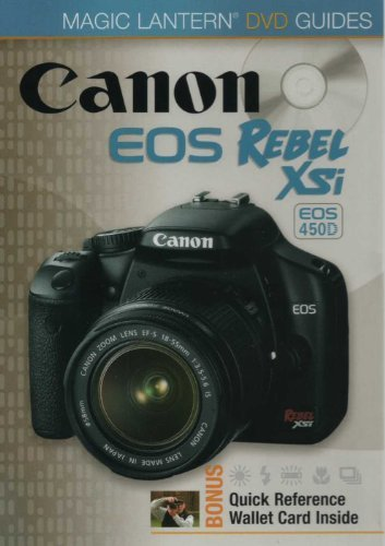 Canon EOS Rebel XSi EOS 450D - Magic Lantern DVD Guides Xsi Dvd