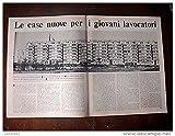 Scarica Libro LE CASE NUOVE PER I GIOVANI LAVORATORI (PDF,EPUB,MOBI) Online Italiano Gratis