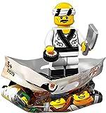 THE LEGO® NINJAGO® MOVIE™ 71019 Minifigur Sushi Chef mit 1x GALAXYARMS Saigabel und 1x Katana in Gold (Sushi Chef)