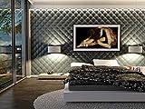 Wandverkleidung Wand Paneele Wandpaneele Verblender PILLOW, 60x60cm, 8 Stück