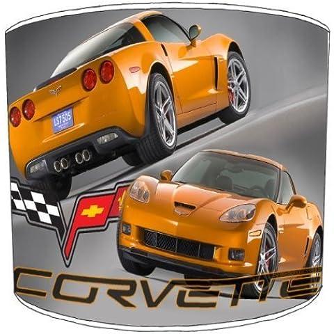 Premier Lampshades–Tavolo Corvette C6Z06auto lampade, 10