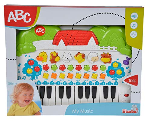 Simba 104018188 – ABC Tier-Keyboard 28x39cm - 2