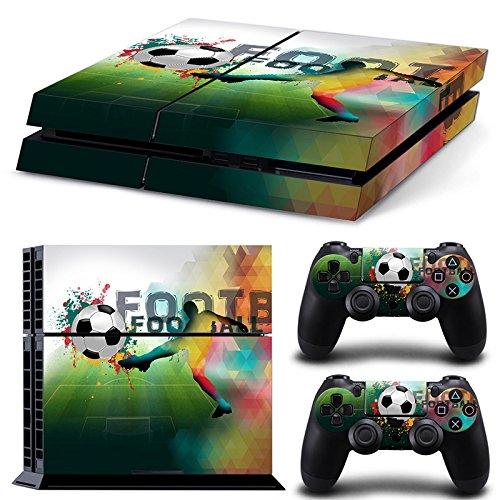 46 North Design Ps4 Playstation 4 Pegatinas De La Consola Football + 2 Pegatinas Del Controlador 51qp 2BaGsuCL