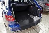 tuning-art 2808-1 Auto Kofferraummatte mit Ladekantenschutz 2-teilig