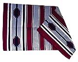 JF-Reitsport Satteldecke Navajo Decke Delgado, bordeaux, One Size, 270041-0002